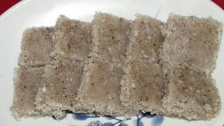 Coconut barfi/Coconut barfi recipe Without Khoya Without milk/Dry coconut barfi recipe in hindi