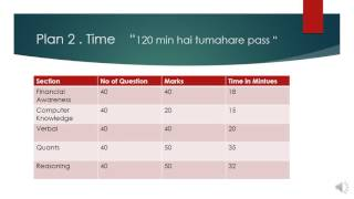 IBPS RRB SCALE 2 & 3 : Time Plan and How to Appear 2017 Video