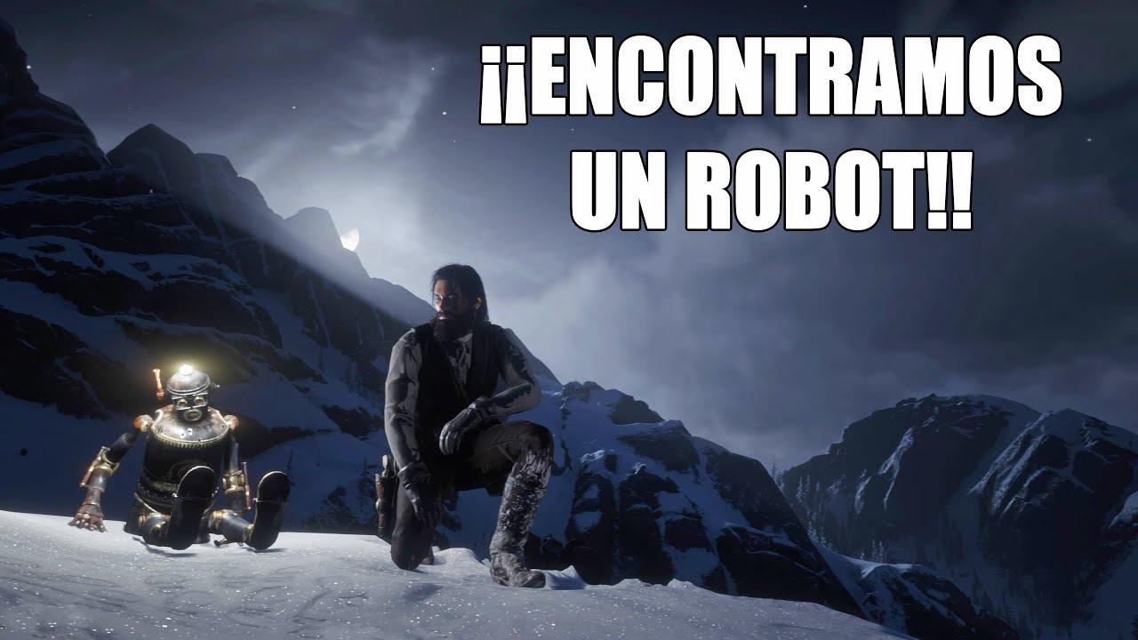 Red Dead Redemption 2 - ¡¡Encontramos un ROBOT!! ¿Cómo hacer que aparezca y cuál es su origen?