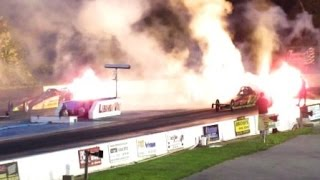 Jet Dragster's 2016 at Lebanon Valley Dragway Night Of Fire