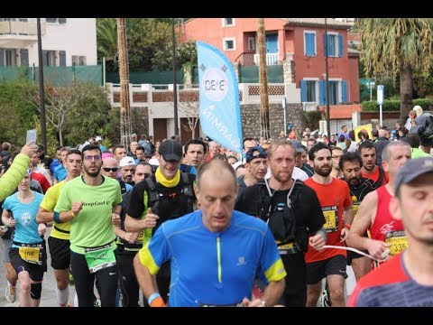 Marathon Nice Cannes 06/11/2017  passage la Salis 3h30