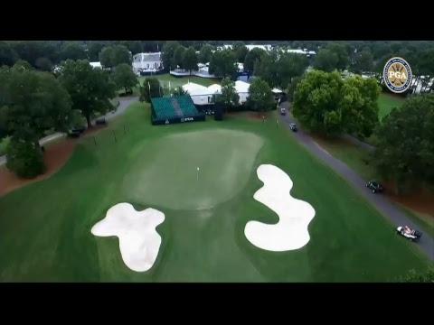 2017 PGA Championship - LIVE Drone Flyover