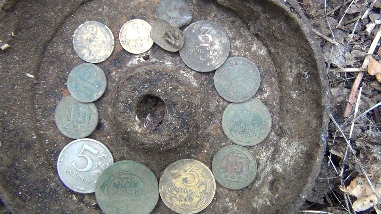 Смотреть коп с металлоискателем coins valuable