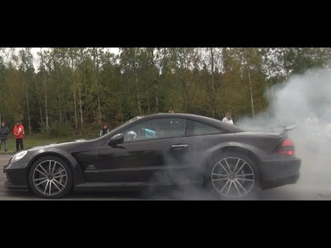 21 min 670 HP Mercedes SL65 AMG Black Series vs EVERYTHING! Trolls BMW M, Lamborghini and more!