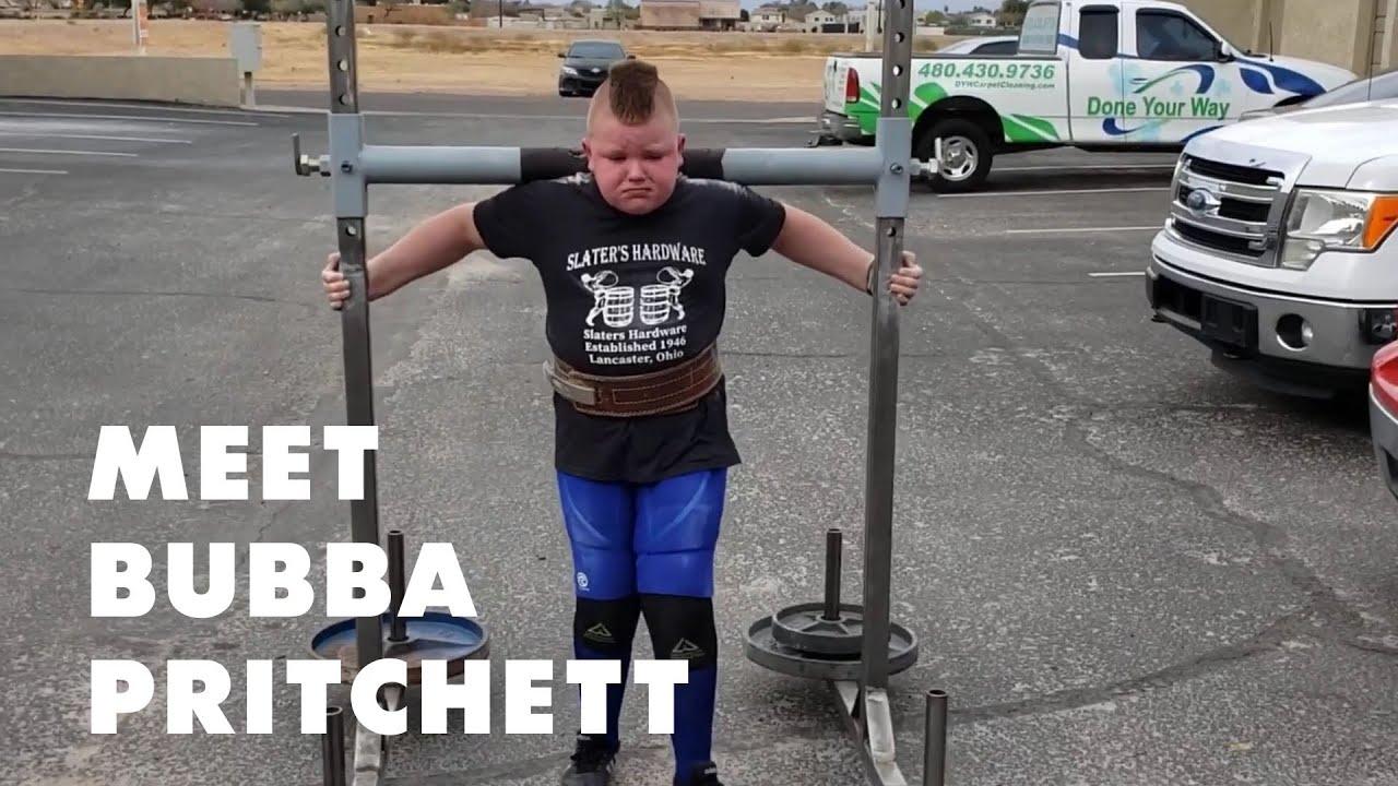 Meet Bubba Pritchett: The World's Strongest Kid