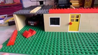 как можно сделать лего домик.Часть3