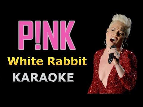 Pink - White Rabbit Karaoke Version