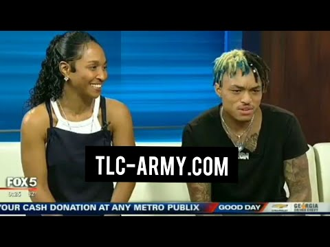 Chilli & Tron Austin Good Day Atlanta Interview September 12, 2019 | TLC-Army.com