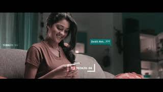 Cute💞Love | Tamil Love 💞 Cover Song Mix | Vijaysethupathi 💙 Gayathrie | Whatsapp Status | TECHJV-96