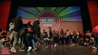 Lil Di & Lamut | HIP HOP INTERNATIONAL Russia 2016 All Styles 2x2 Final