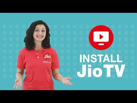 Jio TV - How To Install Jio TV App (Hindi)   Reliance Jio