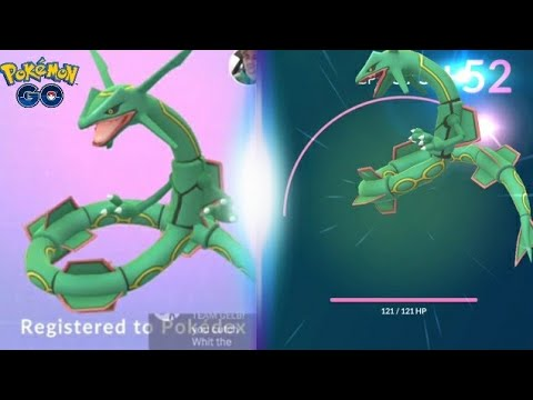 Download Youtube: RAYQUAZA! IS IT WORTH POWERING UP? POKEMON GO