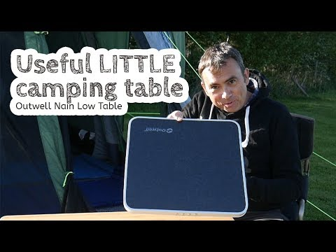 Quick Video: Outwell Nain Low Table - Useful For Camping