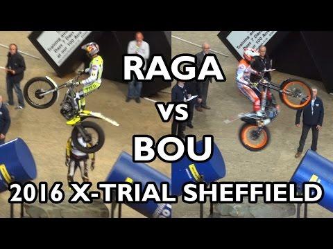 Adam Raga vs Toni Bou - Sheffield X-Trial 2016 (Round 1)