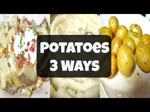Instant Pot Recipes For Beginners | 3 Ways To Cook Potatoes