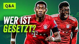 Alaba, Davies, Hernandez, Boateng: Wer ist beim FC Bayern gesetzt? Gladbach: Bleibt Zakaria?