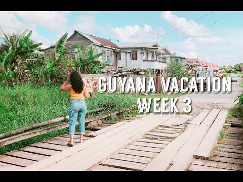 WEEK 3 OF 5 | GUYANA VACATION 2018 VLOG | REESIIBABE