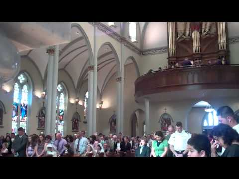 First Holy Communion Mass 2013