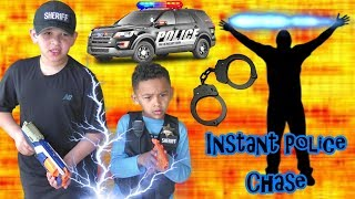 INSTANT POLICE CHASE! Deputy Jake and Josh Teleport to CATCH suspect...