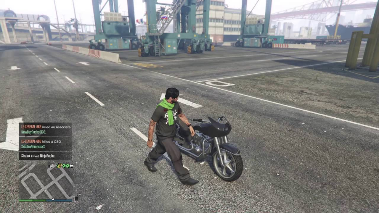 GTA 5 ONLINE WESTERN BAGGER LOCATION (FRANKLINS BIKE) RARE ...