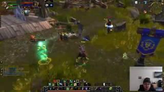 The void elf who likes jumping off cliffs BM hunter pvp bfa beta