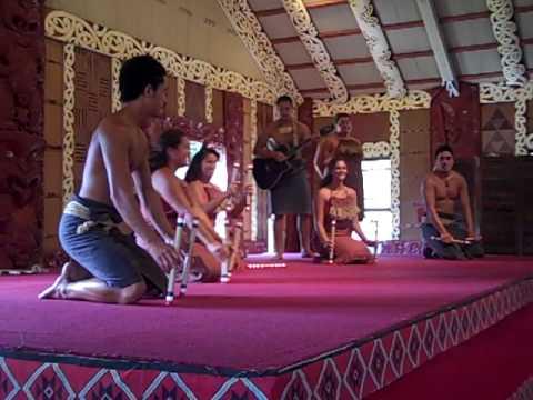 Polynesian Cultural Center Maori tanga