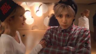Trouble Maker - Now Dance Practice (Hyuna and Hyunseung talk) OPPA! By:AsunaWp