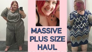 SSBBW HAUL : trying on TEA DRESSES /JUMPSUITS IN SHOP