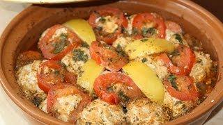Moroccan Salmon & Rice Balls Tagine Recipe - Tagine De Boulettes De Saumon & Riz
