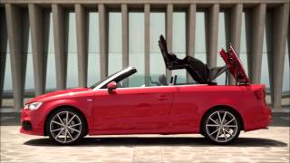 2016 audi a3 s3 convertible top demonstration