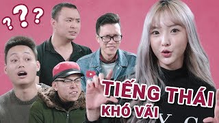 First time Nene (Thai hot girl) learns Vietnamese