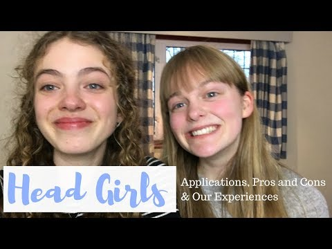 Head Girl Advice with UnJaded Jade! || Applications, Pros and Cons & Our Experiences