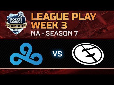 RLCS League Play Week 3 - Cloud 9 vs Evil Geniuses