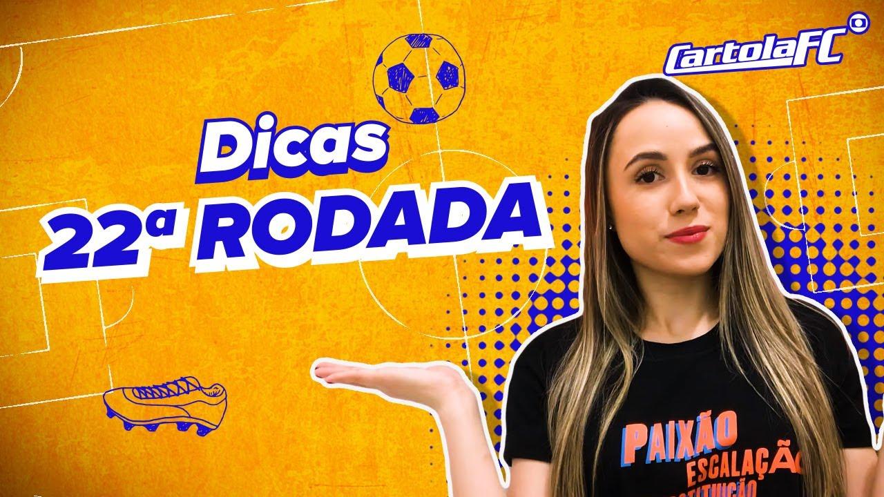 Download 22ª rodada | Dicas da Cami | Cartola FC 🎩⚽