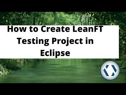 LeanFT tutorial:Create your