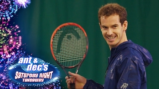Little Ant & Dec Interview Andy Murray - Saturday Night Takeaway