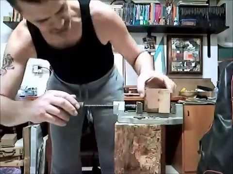 Vite di Archimede in legno-
