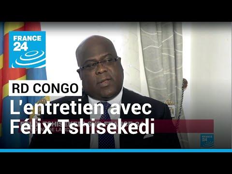 REPLAY - Entretien EXCLUSIF avec Félix Tshisekedi, président de la RD Congo,en intégralité