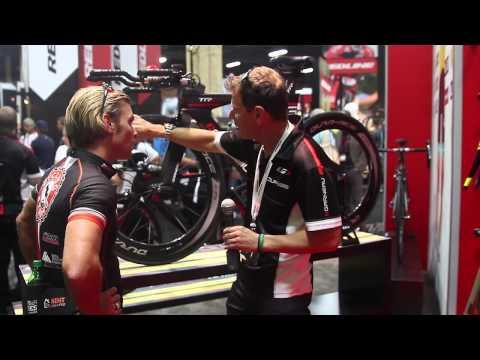 Interbike 2013 - Garneau Gennix TR1 Super Elite Bike at Interbike