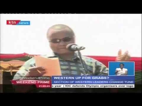 DP William Ruto plans a political alliance with Western Kenya