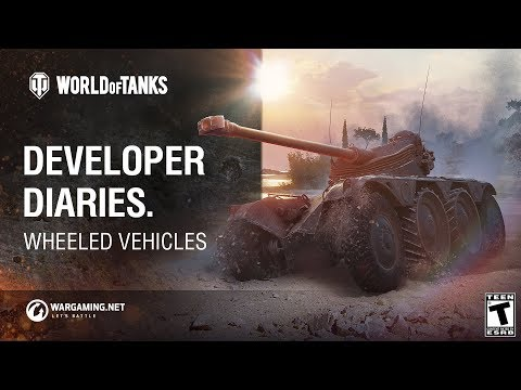 Developer Diaries: Wheeled Vehicles. Part 1