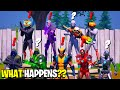 What Happens if ALL 9 Bosses Meet in Fortnite!   Boss Midas Meets Iron Man, Dr Doom & Henchmen!