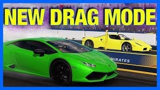 Forza 7 : NEW DRAG RACING MODE GAMEPLAY!! (Experimental Drag Racing)
