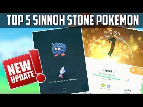 Updated Sinnoh Stone: Best Pokemon To Evolve In Pokemon Go!