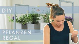 2 einfache DIY Pflanzenregale | Deko mit Pflanzen | Home&Living