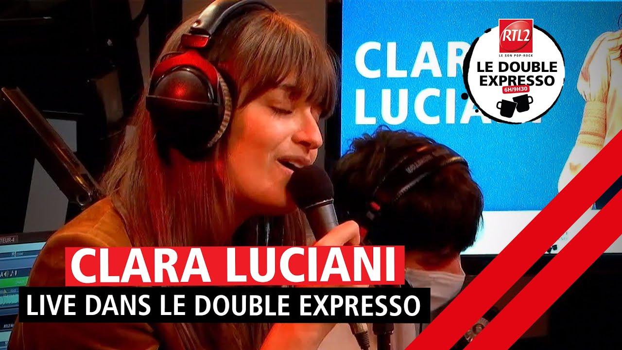 """PÉPITE - Clara Luciani interprète """"Ma sœur"""" en live dans Le Double Expresso RTL2 (11/06/21)"""