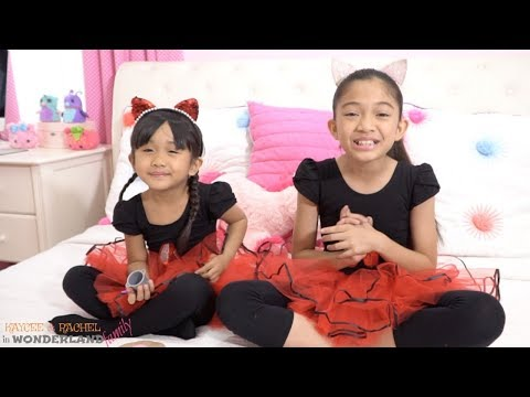 RED TUTU DRESS UP and MAKEOVER