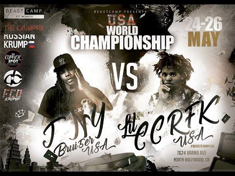 Lil CCRFK VS JNY aka Brui5er | BeastCamp USA Championship 2019