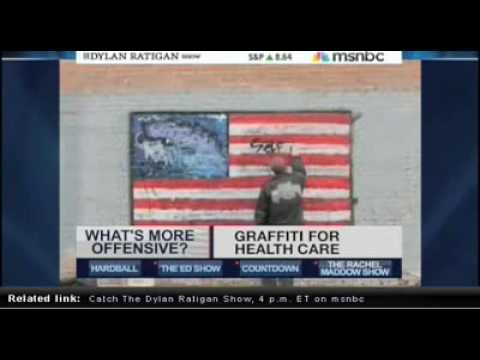MSNBC's Dylan Ratigan Interviews SABER, LA Graffiti Legend