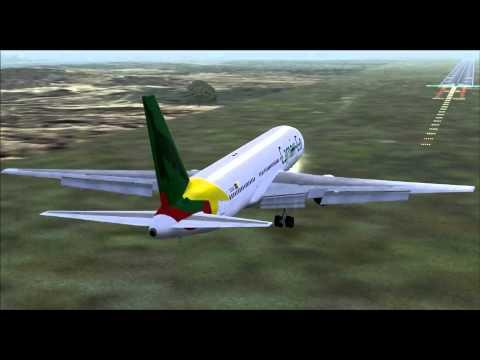 Camair Co CAC101 767-300ER TJ-CAC Yaounde (NSI) - Douala (DLA)